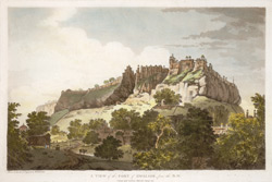 A View of the Fort of Gwalior, from the N.W